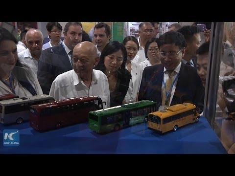 Bilateral co-op highlighted by abundance of Chinese products at Cuba fair