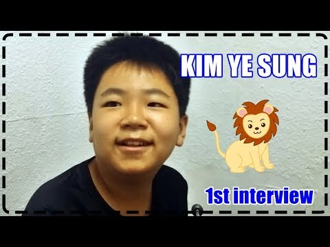 I Can Academy Interview :: Kim Ye Sung :: Week 1