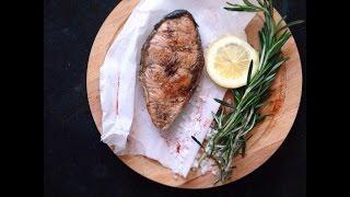 Готовим стейк из семги (простой, быстрый рецепт)(, 2015-04-01T10:11:49.000Z)