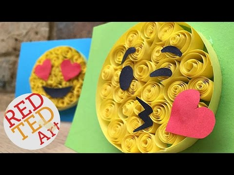 Paper Quilling for Beginners - Emoji DIY - Easy Crafts - Cool Craft Idea