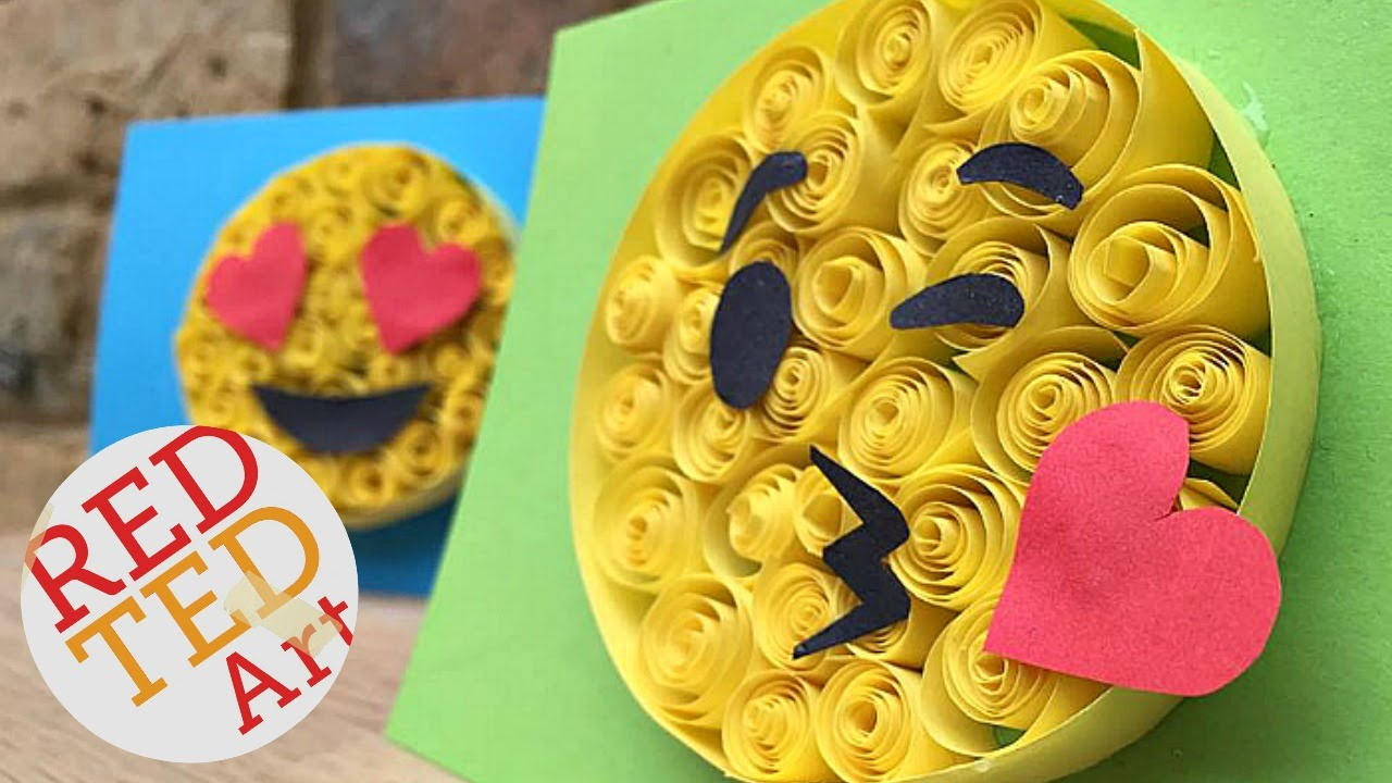 Paper Quilling For Beginners Emoji Diy Easy Crafts Cool Craft
