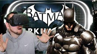 BECOME BATMAN IN VIRTUAL REALITY! | Batman Arkham VR (HTC Vive Gameplay)