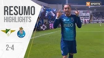 Highlights | Resumo: Moreirense 2-4 FC Porto (Liga 19/20 #16)