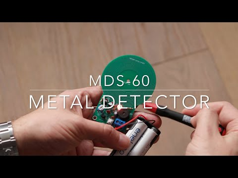 MDS-60 metal detector kit