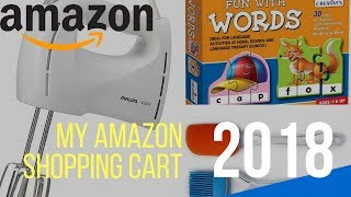 Amazon Shopping Haul ~ Amazon Shopping Cart ~ My amazon Shopping ~ Amazon Shopping of the month ~MSC
