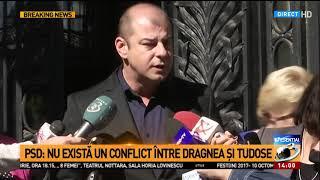 PSD: Nu există un conflict între Dragnea și Tudose