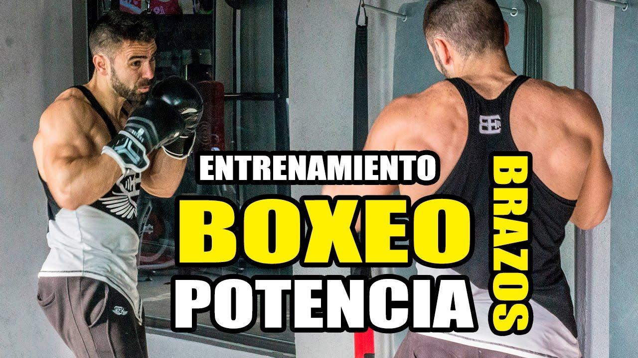 Rutina y dieta para boxeadores