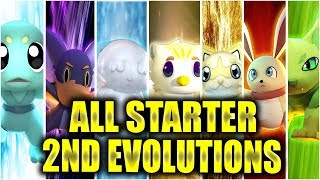 ALL STARTER EVOLUTIONS SO FAR IN LOOMIAN LEGACY...| Roblox | Loomian Legacy
