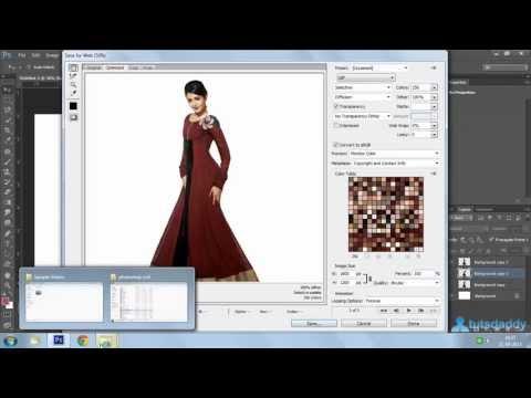 Photoshop Tutorial  : Creating GIF Animation Via Puppet Wrap Method In Photoshop CS6