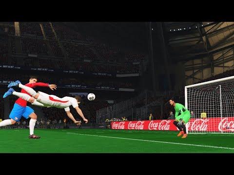 Tunisia vs Costa Rica - International Friendly Match 2018 - Msakni Amazing Goal - Pes Gameplay PC