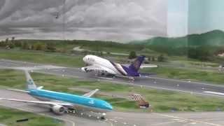 ドイツ旅行4(ミニチュアワンダーランド A380離陸!)