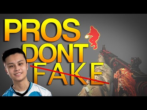 CS:GO - PROS don't FAKE!