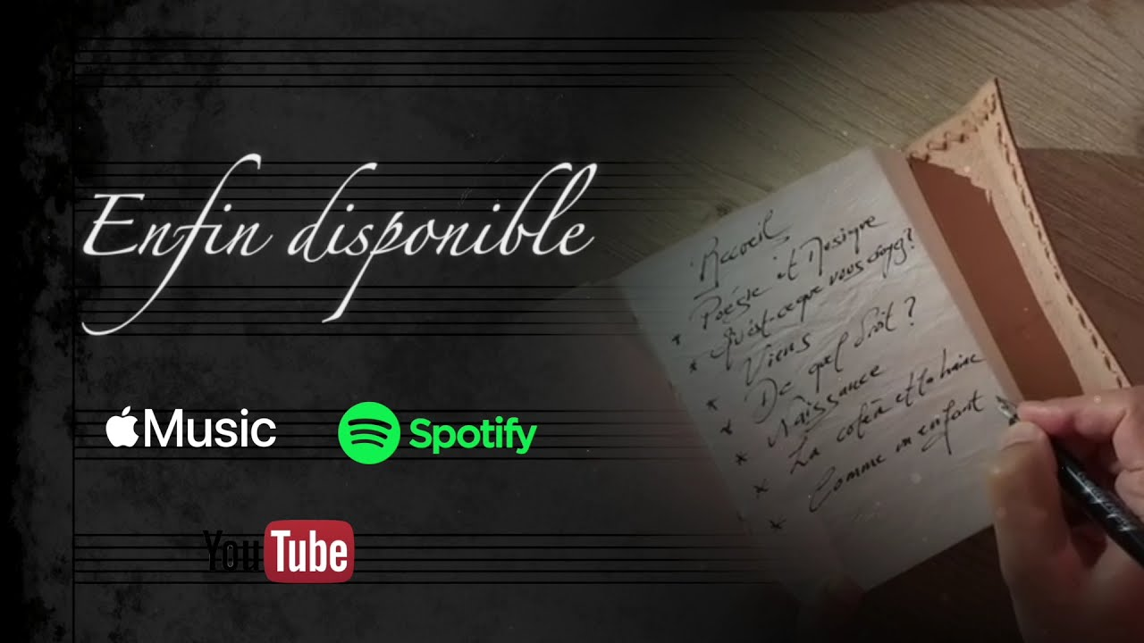 Traversées - Recueil de poésies mises en musique présentation