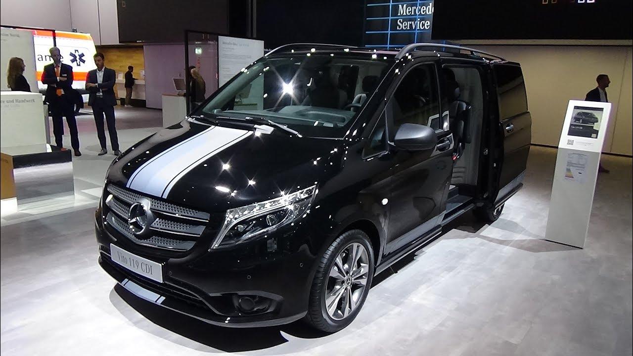 2019 Mercedes Benz Vito 119 Cdi Exterior And Interior Iaa