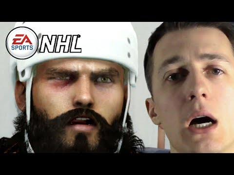 PUNCHED IN THE FACE!!!  || EA Sports NHL Be A Pro Enforcer Gameplay Episode 13