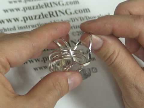 Puzzle Ring Solution For 7 Band Puzzle Rings 72sm Youtube