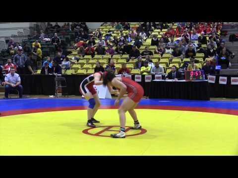 2015 CIS Championships: 63 kg Final Natasha Doroodian vs. Jessica Brouillette