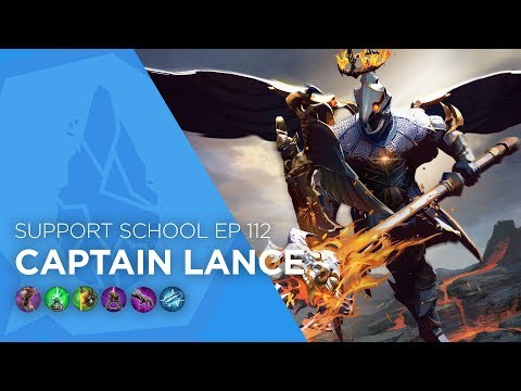 Vainglory - Support School EP 112: Captain Lance (Update 2.11)