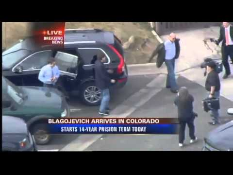 Rob Blagojevich Stops For Lunch Before Entering Prison