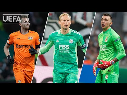 HRADECKY, SCHMEICHEL, MUSLERA | #UEL Best Saves, Matchday 2