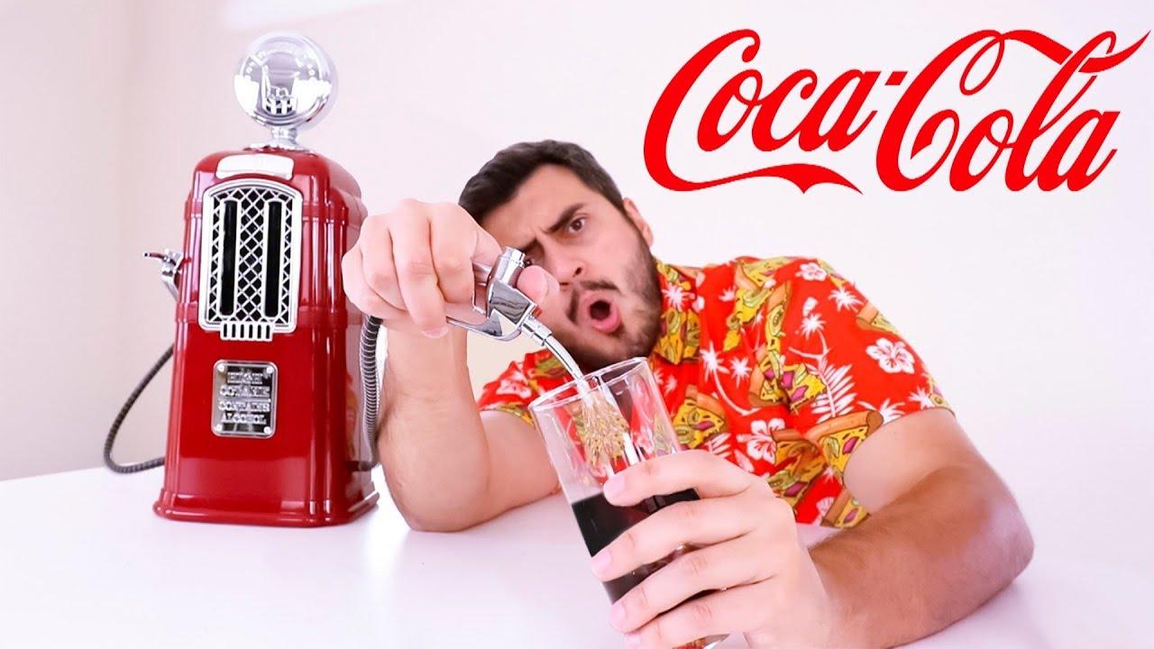 Você nunca mais vai beber Coca-Cola do mesmo jeito....