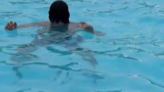 camping la marqueval ,la piscine , pitche volé,pourville sur mére ,08/09