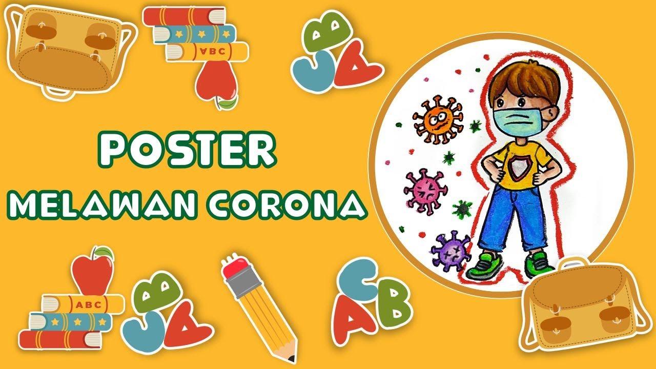 Cara Menggambar Dan Mewarnai Tema Melawan Virus Corona Covid 19 Covid 19 Yang Mudah Untuk Pemula Youtube