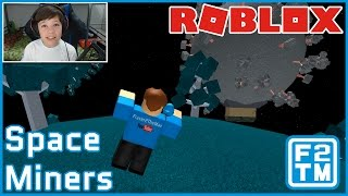 FLYING IN SPACE!!! Roblox Space Miners / Kid Gaming