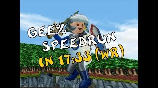 [EN] Hype: the Time Quest - Gee% Speedrun in 17:33 (WR)