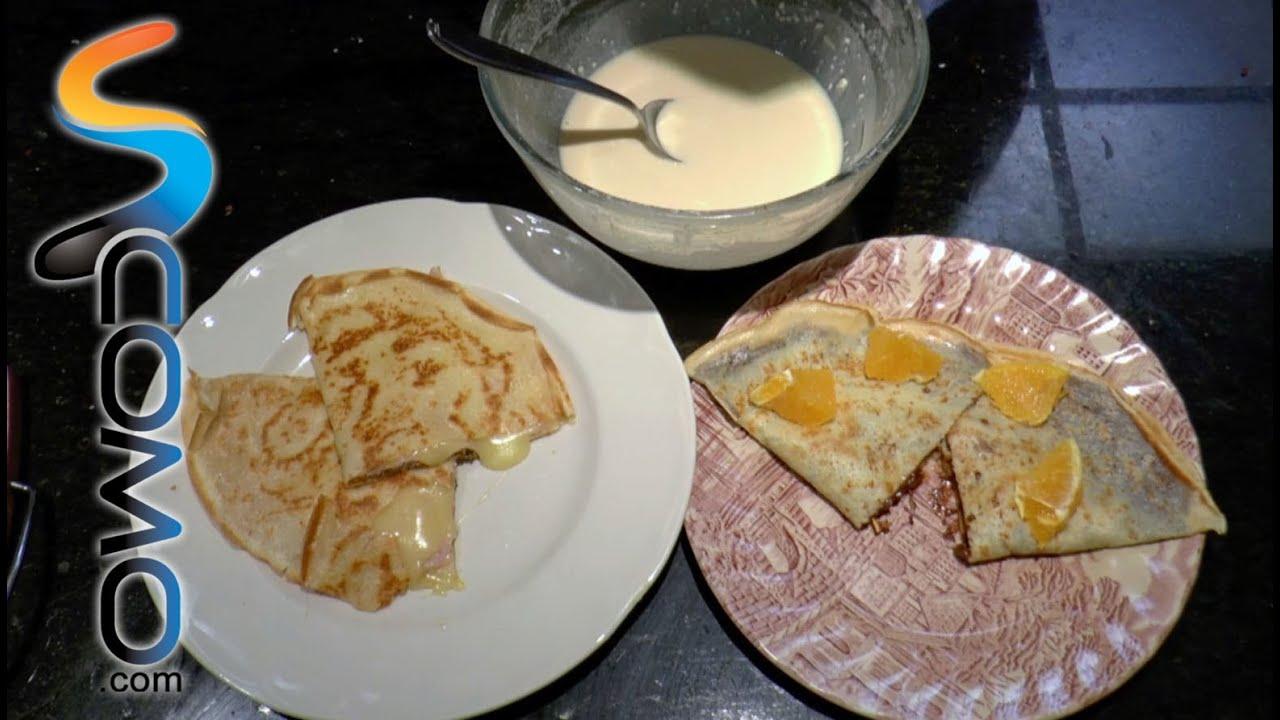 Receta masa de crepes receta fcil para hacer masa de crepes sin azcar aptas para diabticos con - Hacer masa para crepes ...
