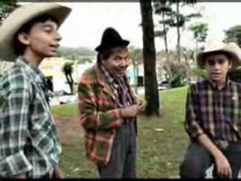 Barnabé com Luis Gustavo e Luis Augusto - O Zinho e o Zão