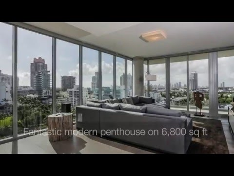 FOR SALE: Luxury Penthouse at 321 Ocean Drive South Beach Miami, Florida by Verzun