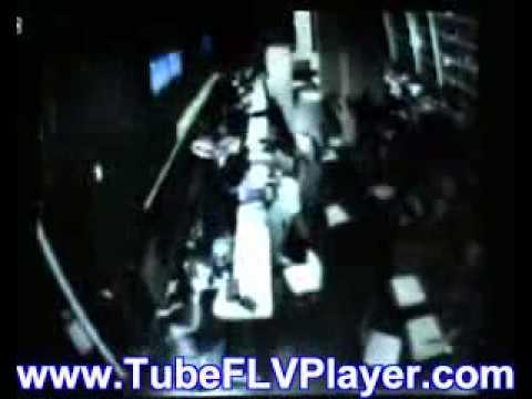 Hotel CCTV of Chile earthquake emerges.WMV