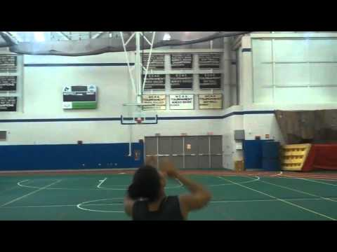 Alexis Silvia Lay Up Drill 10/1/10