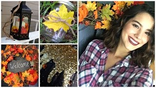 Decorate With Me! Fall Home Decor Ideas/DIY's