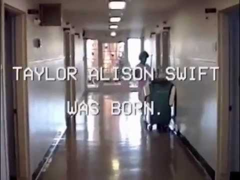 Taylor Swift - Exclusive Home Video in 1989 (4 Days Old Taylor)