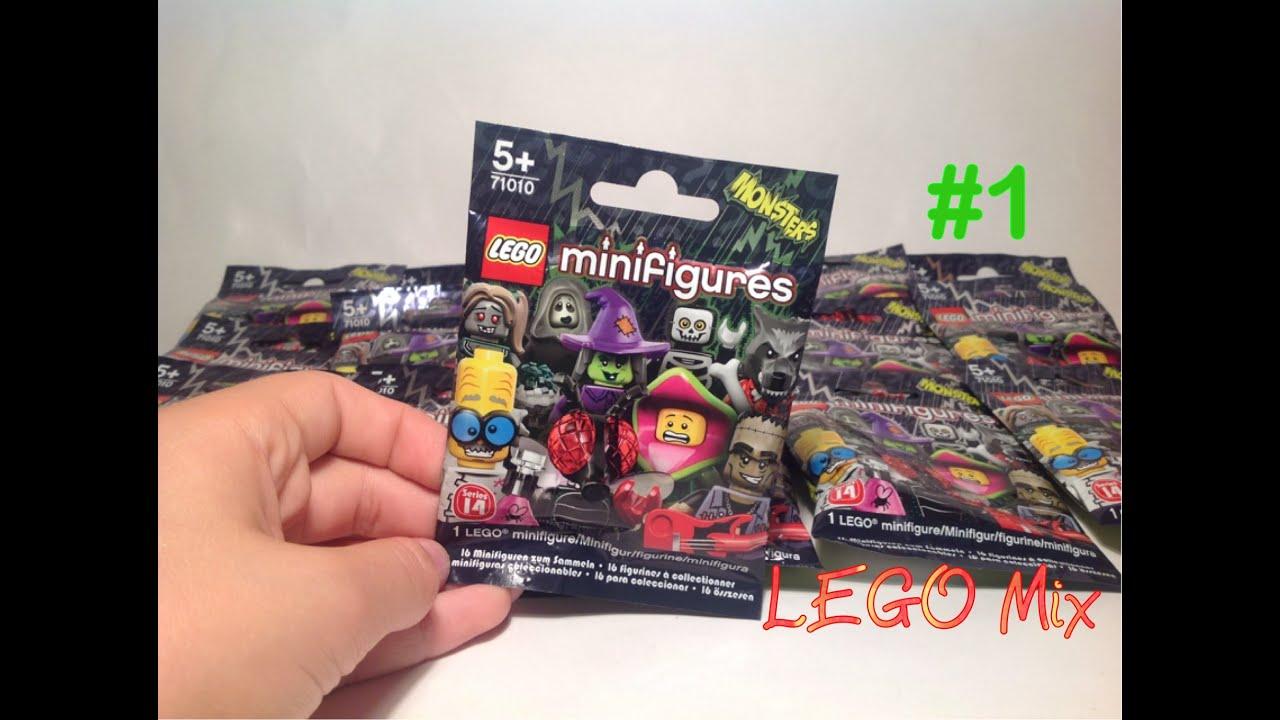 Обзор минифигурок Lego (9 серия) - YouTube