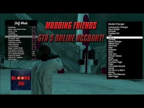 GTA 5 Example of Me Modding People Account For Free PS3/PS4