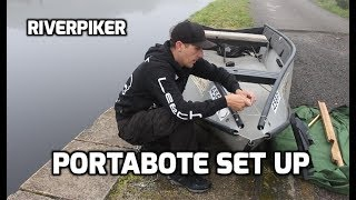 Portabote set up - Fisнing boat (video 189)