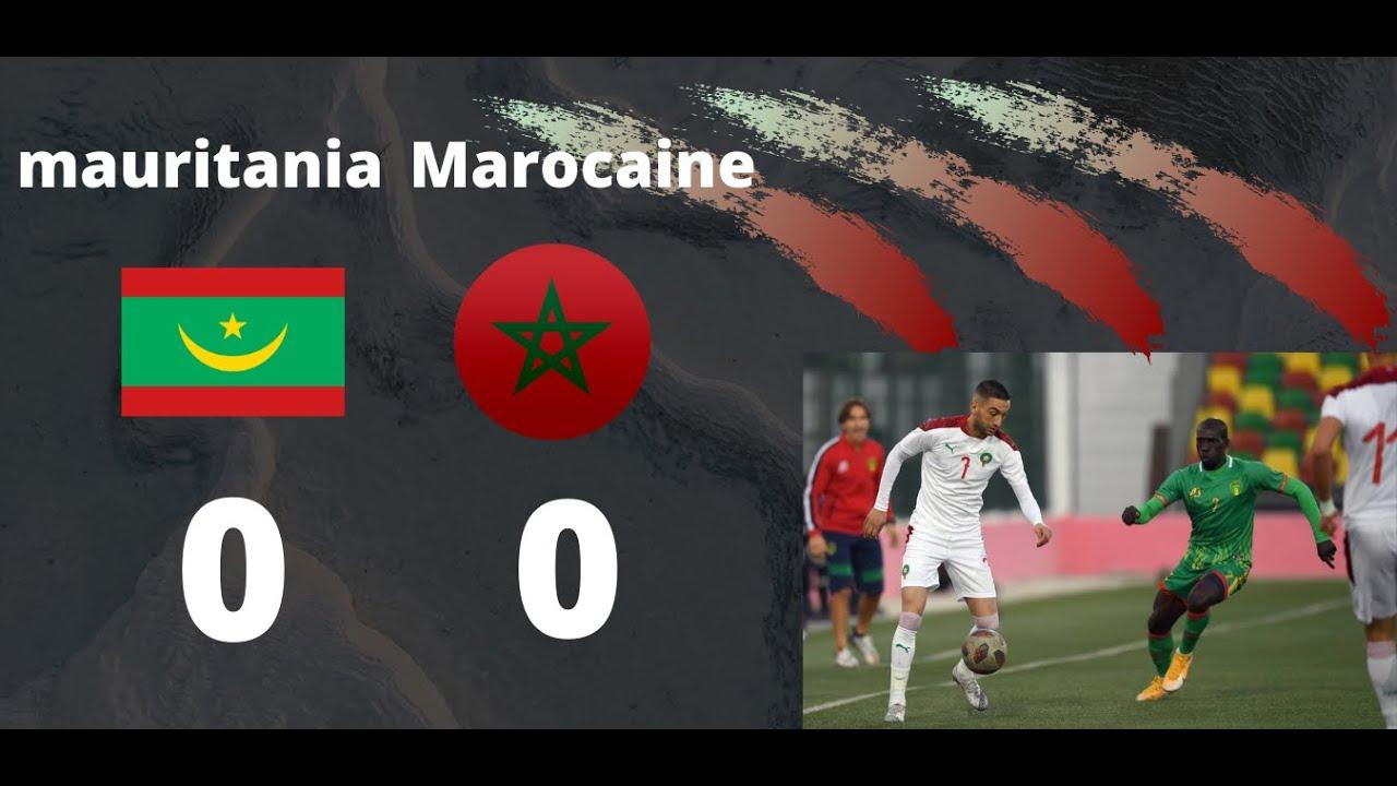 Mauritania vs Hakim Ziyech
