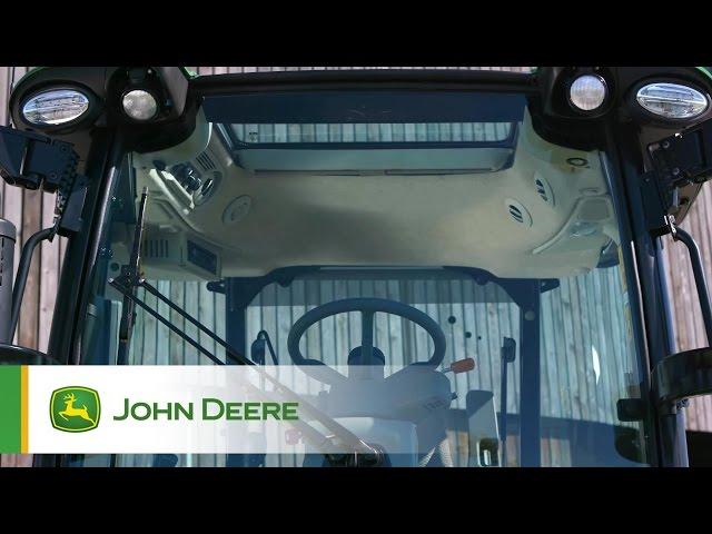 Tracteur 5R John Deere - nouvelle cabine
