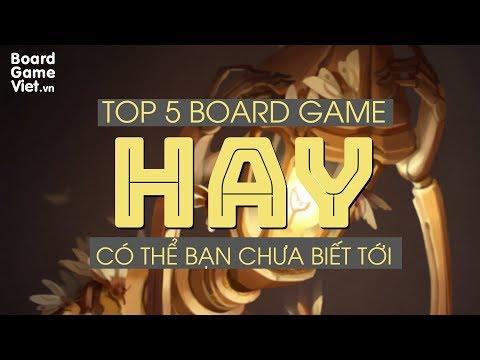Board Game Việt - Top 5 board game HAY có thể bạn chưa biết đến
