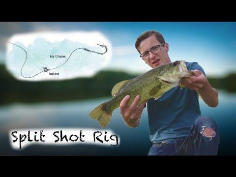 How to fish the split shot rig youtube for Split shot fishing