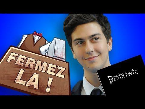 Nat Wolff dans Death Note - FERMEZ LA (Vieux Dossier #5)