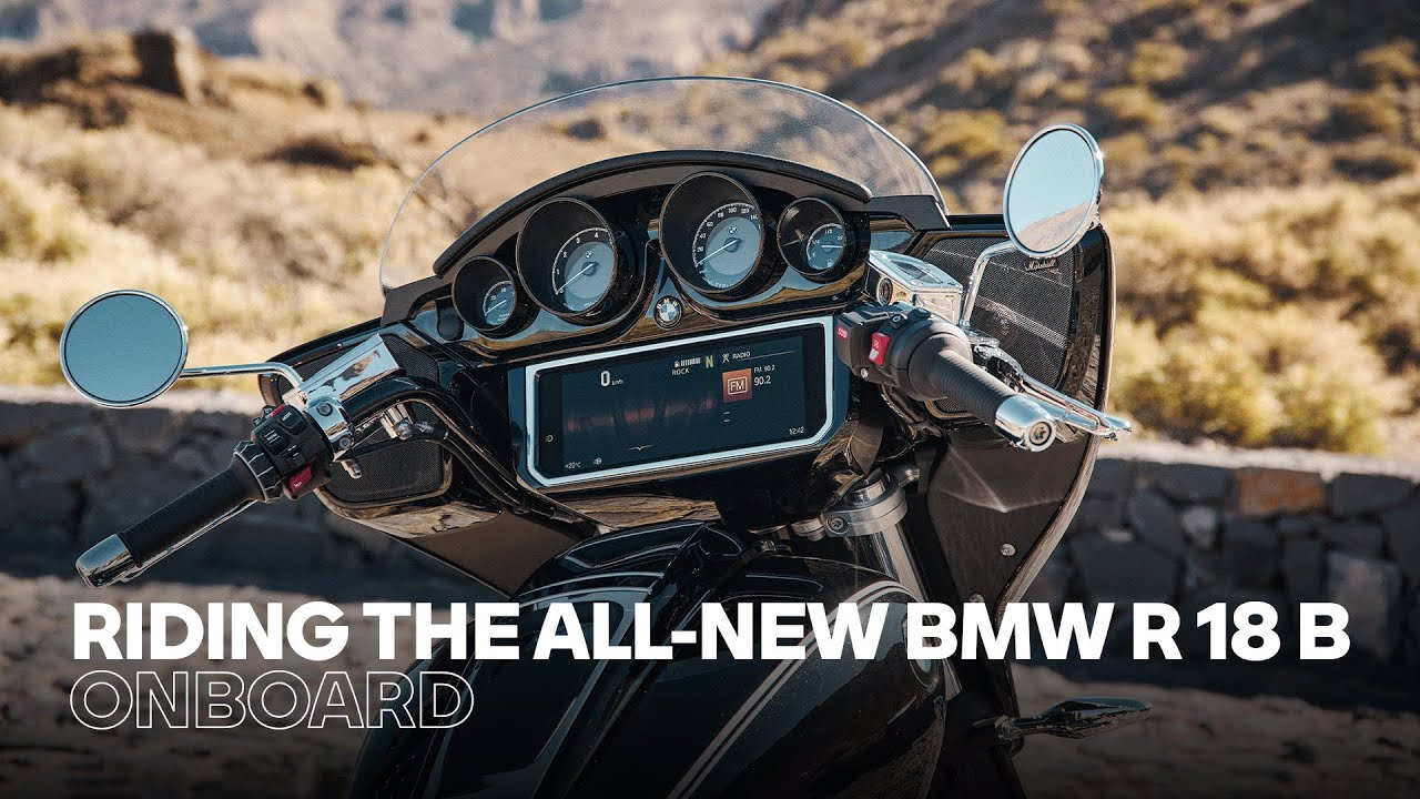ONBOARD: The new BMW R 18 B in the Alps – Pure #SoulFuel Sound!
