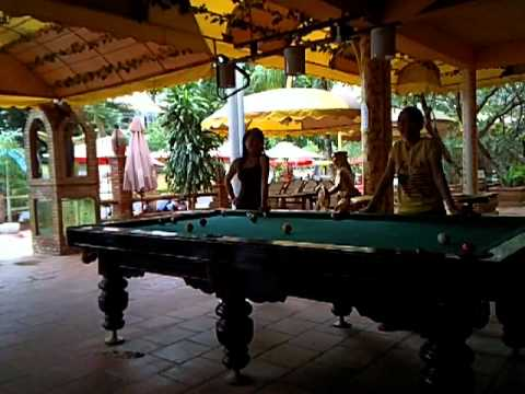 Side By Side Atv >> Vietnam bar girls playing pool1 - YouTube