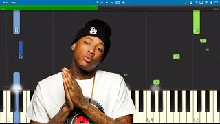 YG - Go Loko ft. Tyga & Jon Z - Piano Tutorial