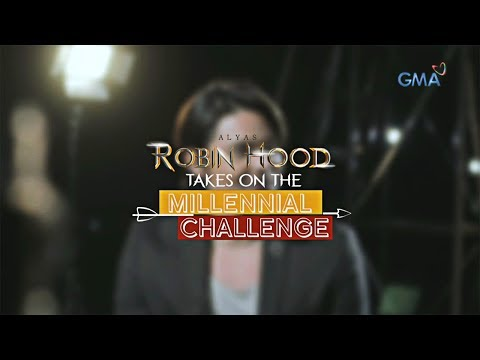 Alyas Robin Hood: Dingdong Dantes takes the millennial challenge - 동영상