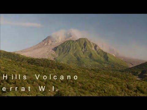 Soufriere Hills Volcano in Montserrat B.W.I.