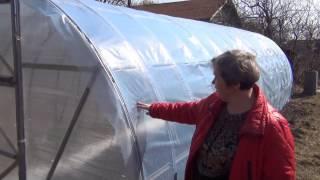 Теплицы из поликарбоната, возникшие проблемы и их решения. Замена поликарбоната на тепличную плёнку.(, 2015-04-12T18:52:42.000Z)